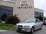 2001 Titanium Silver Metallic BMW 3 Series 325xi Sedan #18446473