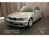 2006 Titanium Silver Metallic BMW 3 Series 325i Coupe #18435113