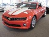 2010 Inferno Orange Metallic Chevrolet Camaro SS/RS Coupe #18450428