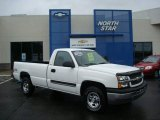2004 Summit White Chevrolet Silverado 1500 LS Regular Cab 4x4 #18443371