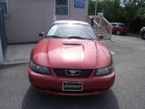 1999 Laser Red Metallic Ford Mustang GT Convertible #18449216
