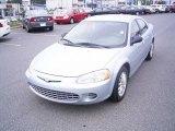 2002 Sterling Blue Satin Glow Chrysler Sebring LX Sedan #18453038