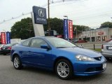 2006 Vivid Blue Pearl Acura RSX Sports Coupe #18437429