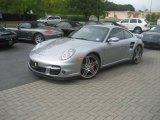 2007 GT Silver Metallic Porsche 911 Turbo Coupe #18451299