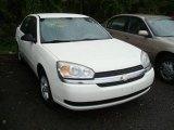 2005 White Chevrolet Malibu LS V6 Sedan #18443374