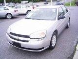 2005 Galaxy Silver Metallic Chevrolet Malibu LS V6 Sedan #18452928