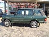1993 Land Rover Range Rover Dark Green Metallic