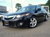 2009 Crystal Black Pearl Acura TSX Sedan #18496680