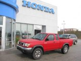 1998 Aztec Red Nissan Frontier XE Extended Cab 4x4 #18502245