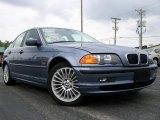 2001 Steel Blue Metallic BMW 3 Series 330i Sedan #18496549