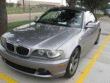2004 Silver Grey Metallic BMW 3 Series 325i Convertible #18509387