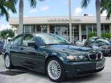 2004 Oxford Green Metallic BMW 3 Series 325i Sedan #18493885