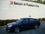 2007 Laser Blue Metallic Chevrolet Malibu SS Sedan #18500373
