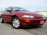 1999 Cayenne Red Metallic Chevrolet Cavalier Coupe #18496534