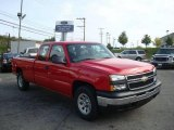 2007 Victory Red Chevrolet Silverado 1500 Classic Work Truck Extended Cab 4x4 #18502285
