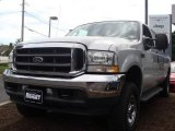 2004 Silver Metallic Ford F250 Super Duty XLT Crew Cab 4x4 #18507363