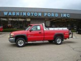 2003 GMC Sierra 2500HD Fire Red