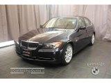 2007 Monaco Blue Metallic BMW 3 Series 335i Sedan #18495816