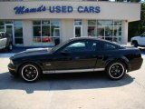 2007 Black Ford Mustang Shelby GT Coupe #18507072