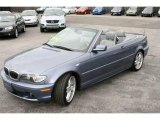2004 Steel Blue Metallic BMW 3 Series 330i Convertible #18559105