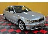2005 Titanium Silver Metallic BMW 3 Series 325i Coupe #18574642
