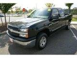 2004 Black Chevrolet Silverado 1500 LS Extended Cab 4x4 #18571873