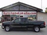 2006 Dark Green Metallic Chevrolet Silverado 1500 LT Extended Cab 4x4 #18571706