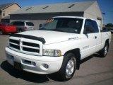 2000 Bright White Dodge Ram 1500 Sport Extended Cab #18563811