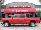 2006 Victory Red Chevrolet Silverado 1500 LS Crew Cab 4x4 #18564831