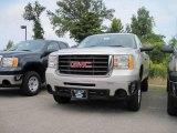 2009 Silver Birch Metallic GMC Sierra 2500HD Work Truck Regular Cab 4x4 #18577980