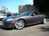 2010 Pearl Grey Metallic Jaguar XK XKR Convertible #18562194
