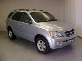 2005 Ice Blue Metallic Kia Sorento LX 4WD #18575628