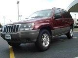 2002 Dark Garnet Red Pearlcoat Jeep Grand Cherokee Laredo #18569370