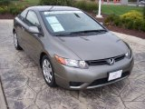 2006 Galaxy Gray Metallic Honda Civic LX Coupe #18579067