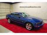 2006 Vista Blue Metallic Ford Mustang GT Premium Coupe #1858604