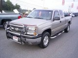 2003 Light Pewter Metallic Chevrolet Silverado 1500 LS Extended Cab 4x4 #18644651