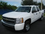 2009 Summit White Chevrolet Silverado 1500 Crew Cab #18630320
