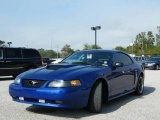 2002 Sonic Blue Metallic Ford Mustang GT Coupe #1857941