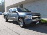 2008 Blue Granite Metallic Chevrolet Silverado 1500 LT Crew Cab 4x4 #18638156