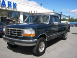 Dark Tourmaline Metallic Ford F250 in 1995