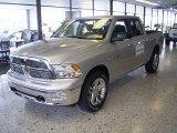 2010 Bright Silver Metallic Dodge Ram 1500 Big Horn Crew Cab 4x4 #18644592