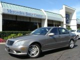2004 Pewter Silver Metallic Mercedes-Benz S 55 AMG Sedan #18626731