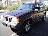 1996 Dark Rosewoood Pearlcoat Jeep Grand Cherokee Laredo 4x4 #18640712