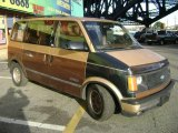 Caramel Brown Metallic Chevrolet Astro in 1989