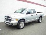 2005 Bright Silver Metallic Dodge Ram 1500 SLT Quad Cab #18642955