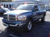 2006 Atlantic Blue Pearl Dodge Ram 1500 SLT Quad Cab 4x4 #18624708
