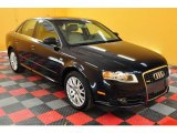 2008 Deep Sea Blue Pearl Effect Audi A4 2.0T quattro Sedan #18639962