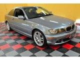 2004 Silver Grey Metallic BMW 3 Series 330i Coupe #18639973