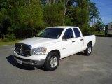 2008 Bright White Dodge Ram 1500 Big Horn Edition Quad Cab #18642637