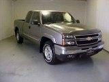 2006 Graystone Metallic Chevrolet Silverado 1500 Z71 Extended Cab 4x4 #18640955